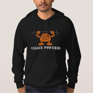 Vegetarian Vegan Tofu Powered Hooded Sweatshirt