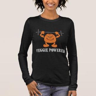 Vegetarian Vegan Tofu Powered Long Sleeve T-Shirt