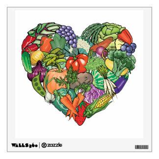 Vegetarian, Vegan Wall Sticker