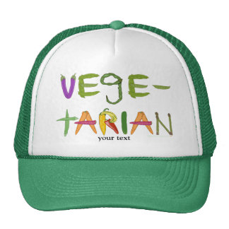 Vegetarian Vegetables Veggie Lovers Trucker Hat