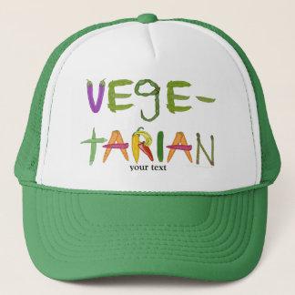 Vegetarian Vegetables Veggie Lovers Trucker Hat