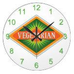 Vegetarian Wall Clocks