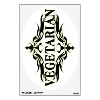 Vegetarian Wall Sticker