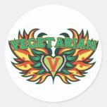 Vegetarian Wings Sticker