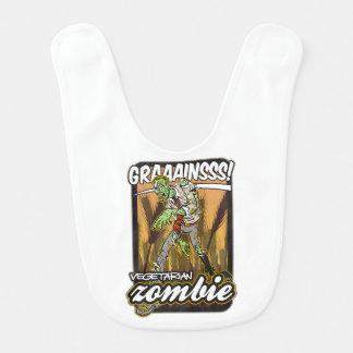 Vegetarian Zombie Baby Bib