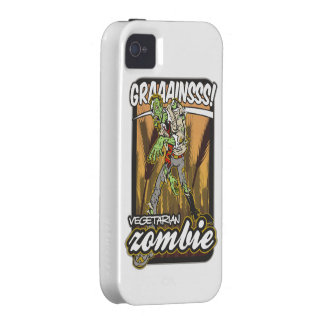 Vegetarian Zombie Case-Mate iPhone 4 Cover