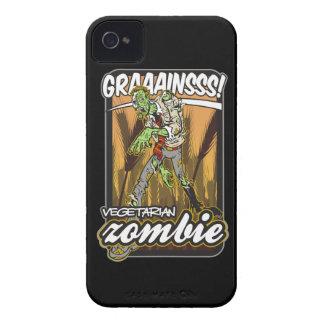 Vegetarian Zombie iPhone 4 Case-Mate Case