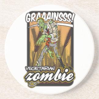 Vegetarian Zombie Drink Coaster