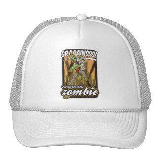Vegetarian Zombie Trucker Hat