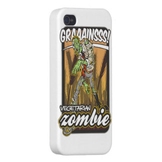 Vegetarian Zombie Case For iPhone 4