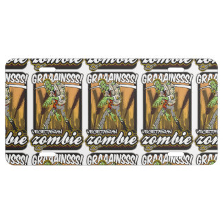 Vegetarian Zombie License Plate