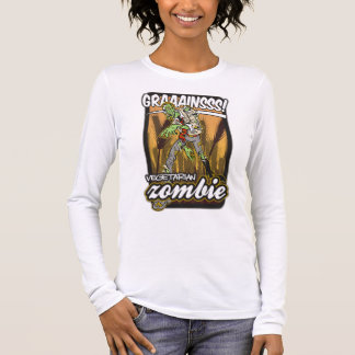 Vegetarian Zombie Long Sleeve T-Shirt