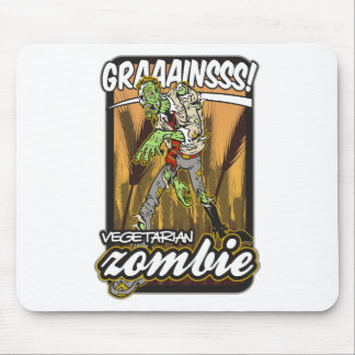 Vegetarian Zombie Mouse Pad