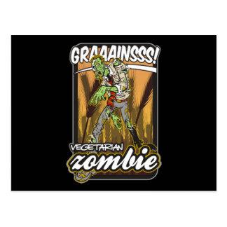Vegetarian Zombie Postcards