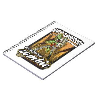 Vegetarian Zombie Spiral Notebook