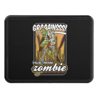 Vegetarian Zombie Tow Hitch Cover