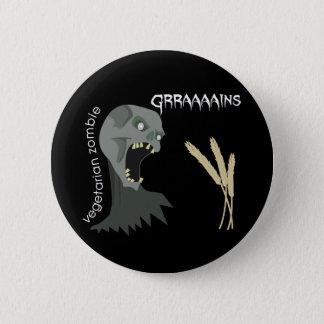 Vegetarian Zombie wants Graaaains! Button