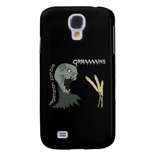 Vegetarian Zombie wants Graaaains! Samsung Galaxy S4 Case