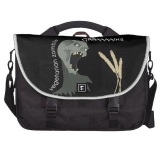 Vegetarian Zombie wants Graaaains! Commuter Bag