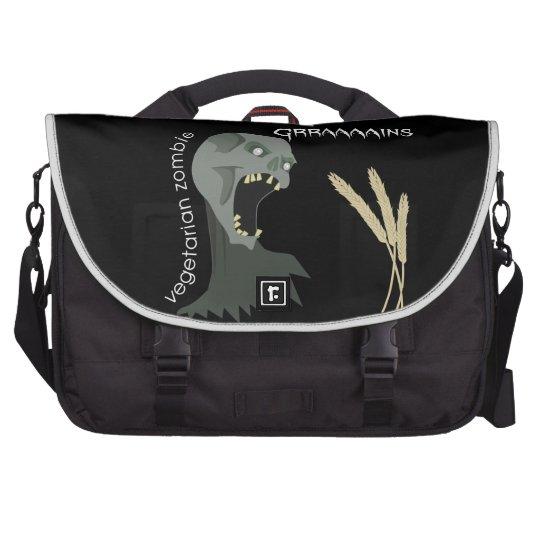 Vegetarian Zombie wants Graaaains! Commuter Bags