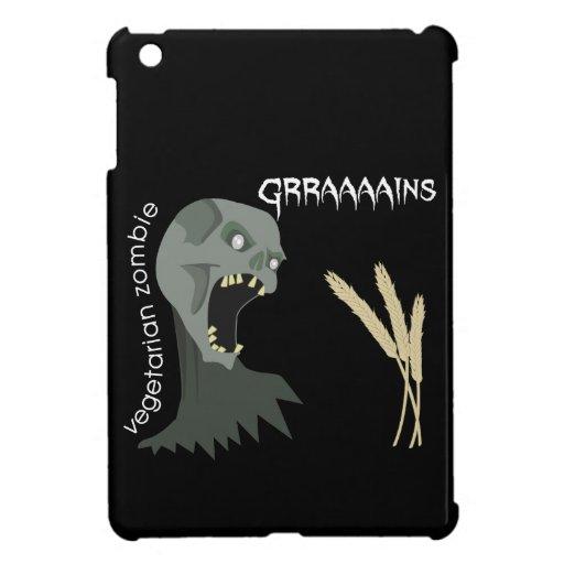 Vegetarian Zombie wants Graaaains! iPad Mini Covers