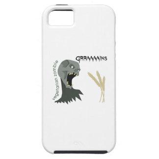 Vegetarian Zombie wants Graaaains! iPhone SE/5/5s Case