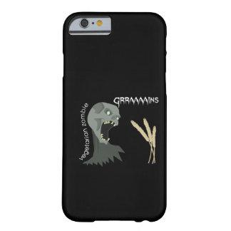Vegetarian Zombie wants Graaaains iPhone 6 Case