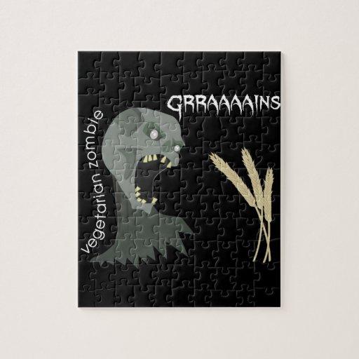 Vegetarian Zombie wants Graaaains! Puzzles