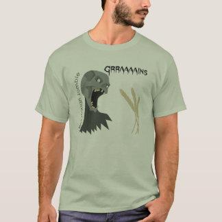 Vegetarian Zombie wants Graaaains! T-Shirt