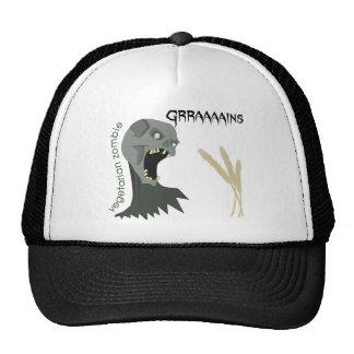 Vegetarian Zombie wants Graaaains! Trucker Hat