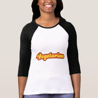 vegetariano 70s playeras