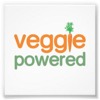 Vegetariano accionado verdura del Veggie Cojinete