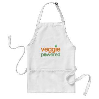 Vegetariano accionado verdura del Veggie Delantal