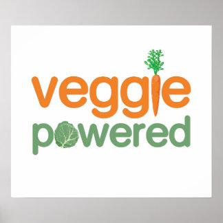 Vegetariano accionado verdura del Veggie Posters