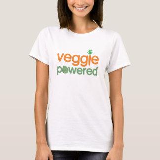Vegetariano accionado verdura del Veggie Playera