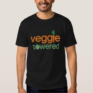 Vegetariano accionado verdura del Veggie Polera