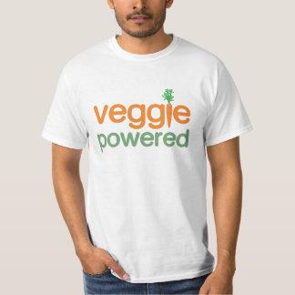 Vegetariano accionado verdura del Veggie Poleras