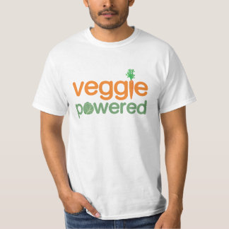 Vegetariano accionado verdura del Veggie Remeras