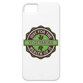 Vegetariano apenas para la salud de ella iPhone 5 protector