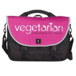 Vegetariano: Compasión sobre crueldad Bolsas Para Portátil