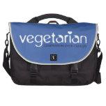 Vegetariano: Compasión sobre crueldad Bolsas De Ordenador