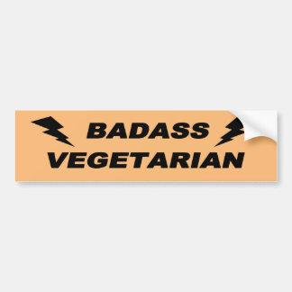 Vegetariano de Badass Pegatina Para Auto