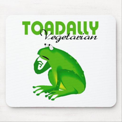 Vegetariano de Toadally Mousepad