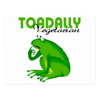 Vegetariano de Toadally Postal