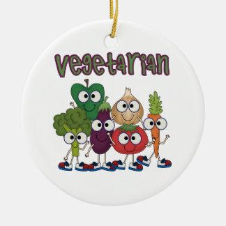 Vegetariano Ornamento Para Arbol De Navidad