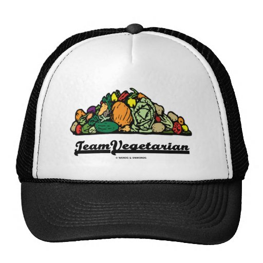 Vegetariano del equipo (actitud/alcohol vegetarian gorros