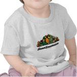 Vegetariano del equipo (actitud/alcohol vegetarian camiseta