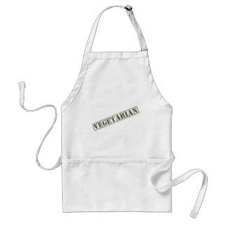 Vegetariano Delantal