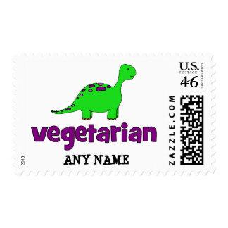 Vegetariano - diseño del dinosaurio