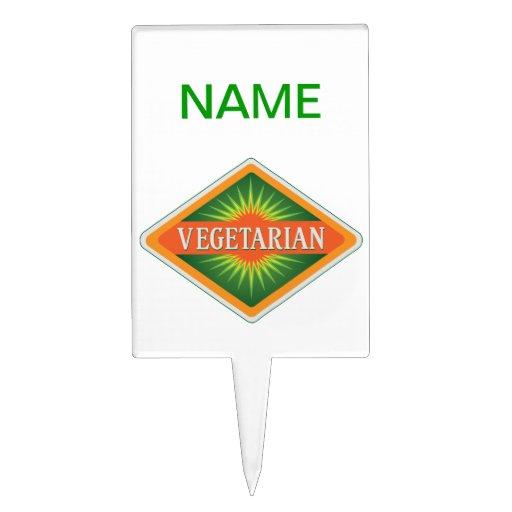 Vegetariano Figura De Tarta